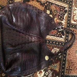 Beautiful Brahmin alligator print bag